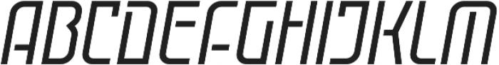Cuantica Solid Italic Regular otf (400) Font UPPERCASE