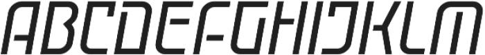 Cuantica Solid Italic Regular otf (400) Font LOWERCASE