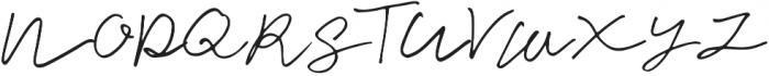 Cuassus Regular otf (400) Font UPPERCASE