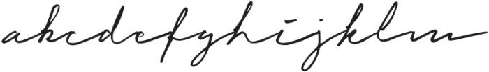 Cuassus Regular otf (400) Font LOWERCASE