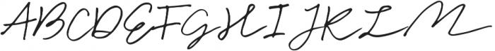 Cuassus Regular ttf (400) Font UPPERCASE