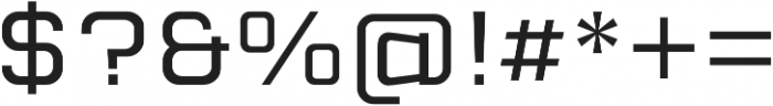 Cuatra Book otf (400) Font OTHER CHARS