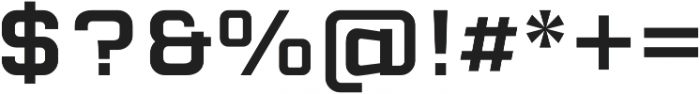 Cuatra Medium otf (500) Font OTHER CHARS