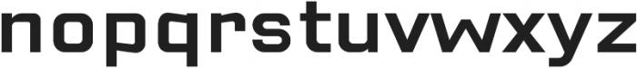 Cuatra Medium otf (500) Font LOWERCASE