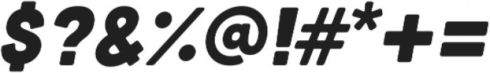 Cubano Italic otf (400) Font OTHER CHARS