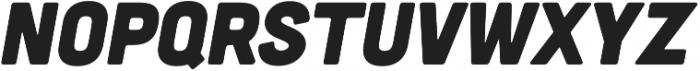 Cubano Italic otf (400) Font LOWERCASE