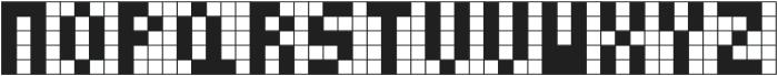 Cubes I ttf (400) Font UPPERCASE