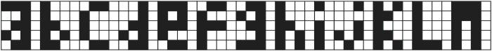 Cubes I ttf (400) Font LOWERCASE