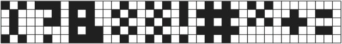 Cubes II ttf (400) Font OTHER CHARS