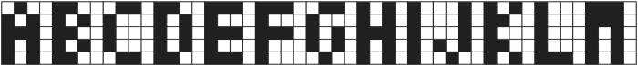 Cubes II ttf (400) Font UPPERCASE