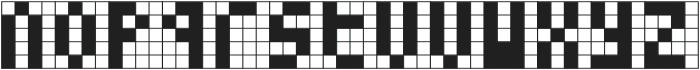 Cubes II ttf (400) Font LOWERCASE