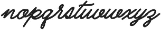 Cubs Script otf (300) Font LOWERCASE