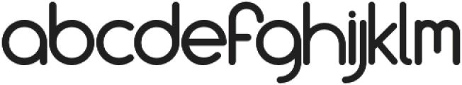Culonite otf (400) Font LOWERCASE