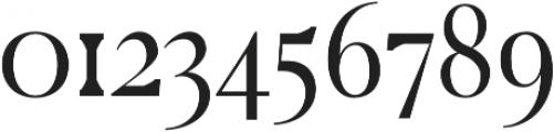 Cunigast regular otf (400) Font OTHER CHARS