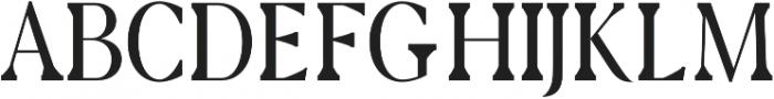 Cunigast regular otf (400) Font UPPERCASE