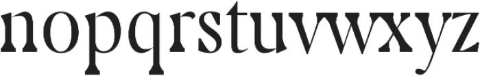 Cunigast regular otf (400) Font LOWERCASE