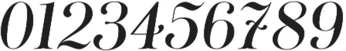 Curator Italic Medium otf (500) Font OTHER CHARS