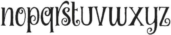 Curely Pro ttf (400) Font LOWERCASE