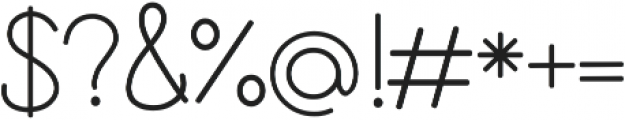 Cursive Kids ttf (400) Font OTHER CHARS
