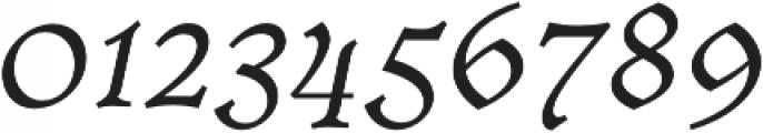 Cursive otf (400) Font OTHER CHARS