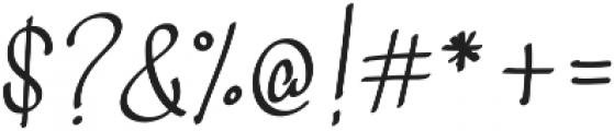 Curvalight Alt1 otf (300) Font OTHER CHARS