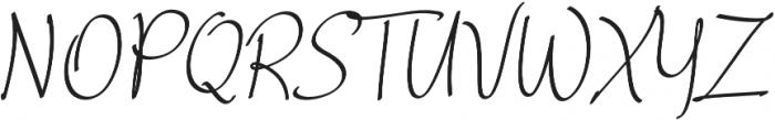 Curvalight Alt1 otf (300) Font UPPERCASE