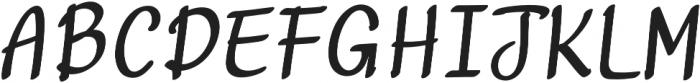 Curvalight Marker otf (300) Font UPPERCASE