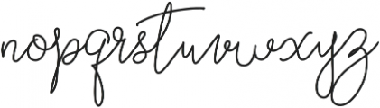 Curvalight Monoline Alt1 otf (300) Font LOWERCASE