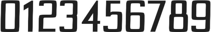 Custom regular otf (400) Font OTHER CHARS