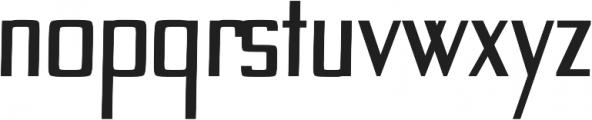 Custom regular otf (400) Font LOWERCASE