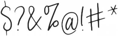 CustomCraft otf (400) Font OTHER CHARS