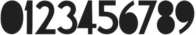 CutAndRun Regular otf (400) Font OTHER CHARS