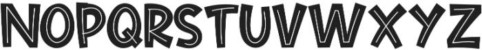 Cute Maple otf (400) Font UPPERCASE