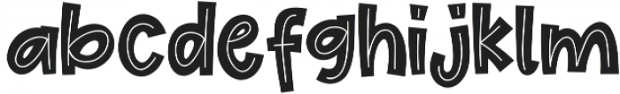 Cute Maple otf (400) Font LOWERCASE