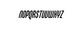 Cubby Cheeks Italic.ttf Font UPPERCASE