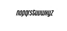Cubby Cheeks Italic.ttf Font LOWERCASE
