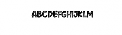 Cute Maple.ttf Font UPPERCASE