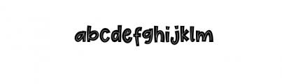 Cute Maple.ttf Font LOWERCASE