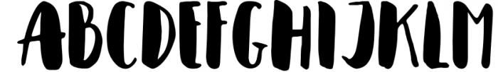 Cupcakia Font UPPERCASE