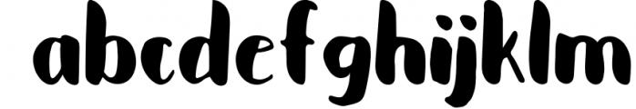 Cupcakia Font LOWERCASE