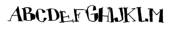 CUBICULOGALLERY SERIF Font UPPERCASE