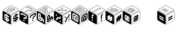 CUBU Font OTHER CHARS