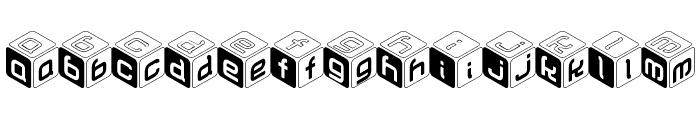 CUBU Font LOWERCASE