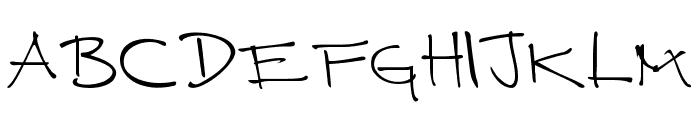 CUERNOMUERTO Font LOWERCASE
