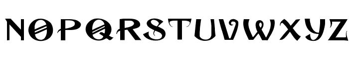 Cuban Font LOWERCASE