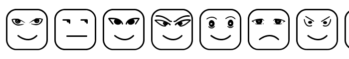 Cube Face ST Font LOWERCASE