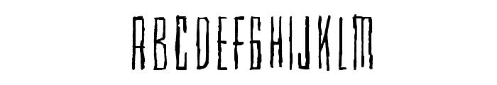 Cubebroken Font UPPERCASE