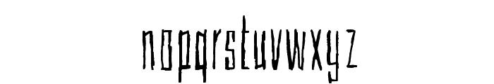 Cubebroken Font LOWERCASE