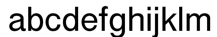 Cubefont Font LOWERCASE