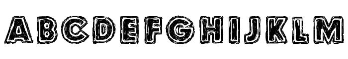Culdesac Font UPPERCASE